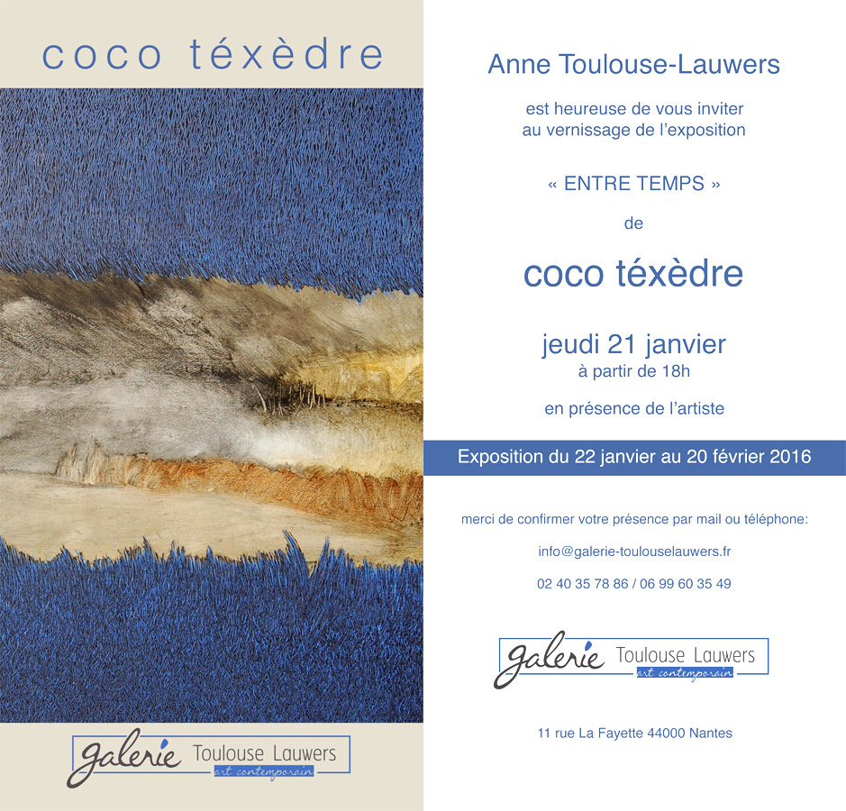 invitation coco texedre 2016