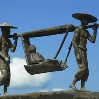 LE PALANQUIN, Bronze n°1/1, 24x37x11 cm, photo: Catherine de Torquat