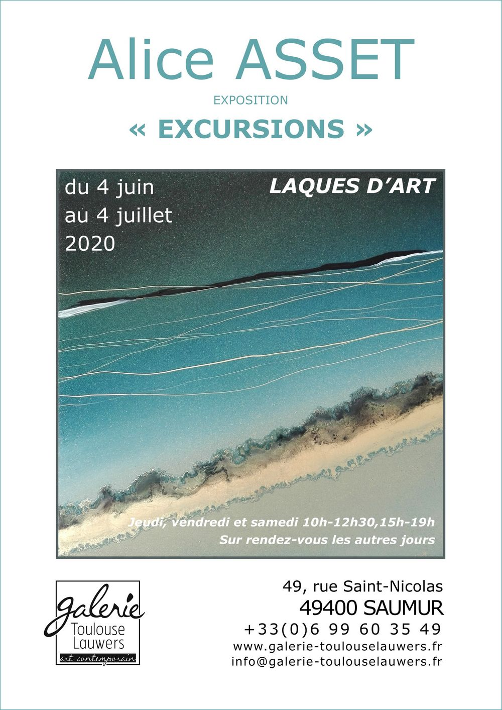 Affiche Sable rduit